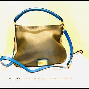 Marc Jacobs Two-Tone Leather Bag